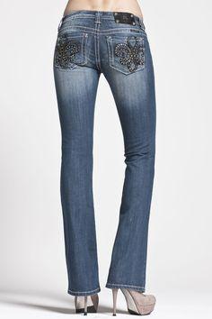Miss Me jeans met studs.  STOER!