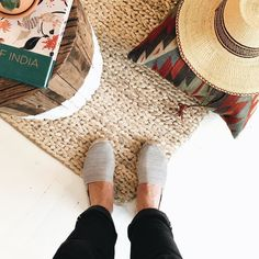 """Nick Brown of @soludos calls these """"the easiest travel shoes."""" Shop the Soludos for J.Crew espadrilles via the link in our bio. #jcrewsummer by jcrew"""