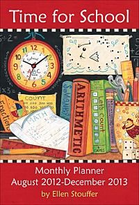 This is the Monthly Planner that is part of my TIME FOR SCHOOL  CLENDAR 2013.  Look for it soon