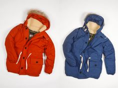 """North East based heritage clothing brand """"Nigel Cabourn"""" has just released from their fall 2010 line the Everest Parker jacket."""
