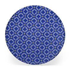 """Montecito Platter 16.5"""" Blue, $21, now featured on Fab."""