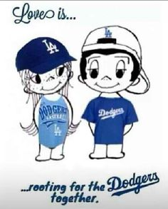 How long have you rooted for the Dodgers???