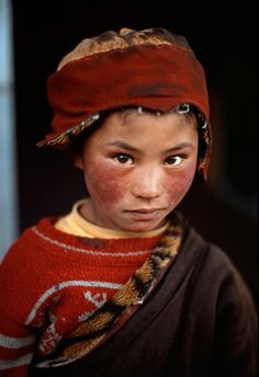 Faces of Tibet by photographer Steve McCurry