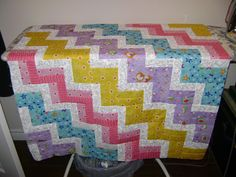 different version of the rail fence quilt