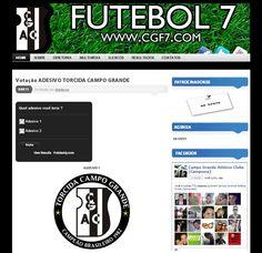 Site Campo Grande Atlético Clube - FUTEBOL 7