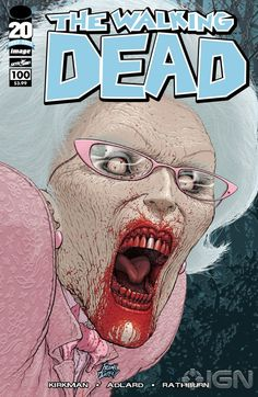 Frank Quitely's Walking Dead #100 Cover  Get it now at Comic Domain  www.comicdomain.co.uk