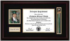 Picture Tassel Diploma Frame