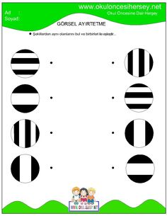 okul öncesi dikkat geliştirme çalışmaları Fun Worksheets For Kids, Math For Kids, Kindergarten Worksheets, Toddler Learning Activities, Montessori Activities, Infant Activities, Numbers Preschool, Preschool Math, Printable Mazes