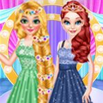 Baby Elsa Birthday Party - Free Mobile Game Online - yiv.com Up Game, Game Art, Long Hair Princess, Free Mobile Games, Elsa Birthday Party, New Outfits, Animation, Prom, Long Hair Styles