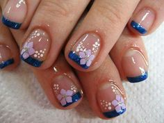 ideas nails french toes tips for 2019 nails - French Nail Designs, Toe Nail Designs, French Tip Nails, French Toes, French Pedicure, Finger Nail Art, Manicure And Pedicure, Pedicure Colors, Nail Colors