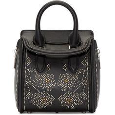 Alexander McQueen Black Studded Mini Heroine Bag (6 7c7d90e599083