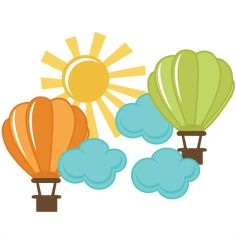 Freebie Of The Day! Hot Air Balloons 042113