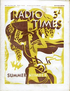 Radio Times Cover.