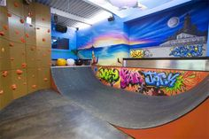 this also is a basement, love the creativity!