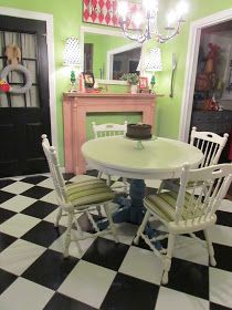 There's No Place Like Home: Table, Chairs, and Cookies!