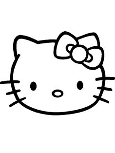 Hello Kitty SVG File