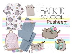 """""""#PVxPusheen"""" by gabyidc ❤ liked on Polyvore featuring D&G, Pusheen, contestentry and PVxPusheen"""