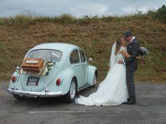 Classic 1965 Beetle wedding transport