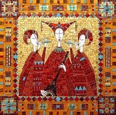 Irinia Charny ~ 'Byzantine Trio'