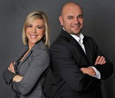 Team Rassak - The Husband and Wife Team in Langley. Headshot Poses, Headshot Photography, Portrait Poses, Headshot Ideas, Photography Studios, Photography Backdrops, Corporate Portrait, Business Portrait, Business Photos