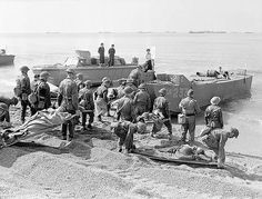 Personnel of the Royal Canadian Army Medical Corps during … | Flickr