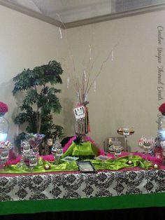 #candybuffet #girlsnightout dayna mancini // event design and coordination // cutetc.com