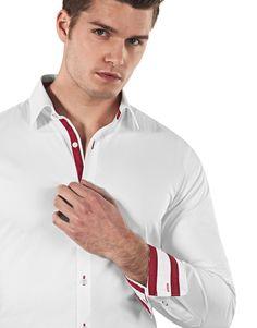 VB Herren Hemd Body Fit (stretch, körperbetont, sehr tailliert) Uni Bügelleicht: Amazon.de: Bekleidung