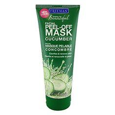 Freeman Facial Peel-Off Mask, Cucumber, Skin Silkening
