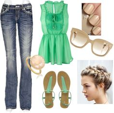 """Spring Fling!"" by estieladr on Polyvore"