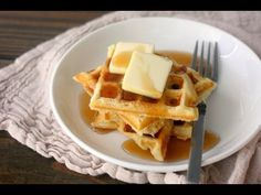 This easy waffle recipe is the only waffle recipe you will only need! This one recipe is the base for creating any flavor of waffle you could ever...