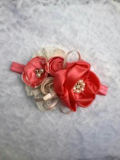 Hair Bows, Headbands, Princess, Baby, Head Bands, Free Pattern, Hair Bow Bun, Pattern Books, Fabric Flowers