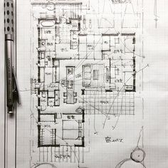 Mb ve tay Architecture Model Making, Architecture Concept Drawings, Architecture Sketchbook, Architecture Plan, Floor Plan Sketch, Floor Plan Layout, Autocad, Sketches Arquitectura, Civil Engineering Design