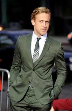 Menswear Snapshot: Wearing the Colour Green - The Versatile Gent