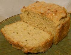 Lemon Zucchini Loaf Cake – Gluten Free, Dairy Free, Egg Free