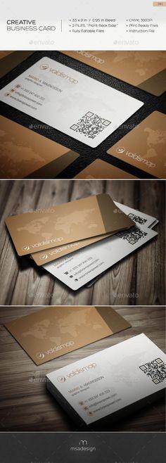 Creative Business Card 081  #template #creative #business