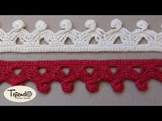 Crochet egde edging. Bobble . Puntilla a ganchillo 2 - YouTube