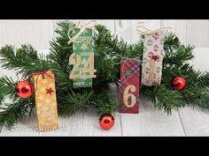 """Adventskalender """"Gemütliche Weihnachten""""  mit Produkten von Stampin'Up!®..."""