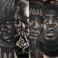 I would like to get a Tupac tattoo...
