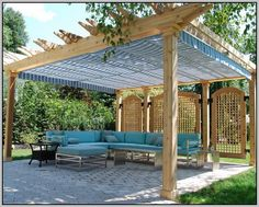 Canvas Patio Covers Diy Pergola Shade With Roof Gazebo