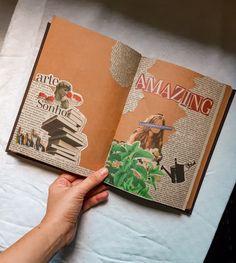 Diy Journal Books, Bullet Journal Writing, Bullet Journal School, Creative Journal, Scrapbook Journal, Bullet Journal Ideas Pages, Bullet Journal Inspiration, Art Journal Pages, Journals