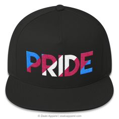 ec22022da9b Trans Pride Snapback Hat from our PRIDE Snapbacks range. Trans Flag