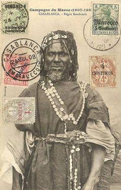 Moroccan Gnawa Troubadour.