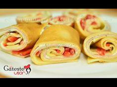 Reteta de Clatite aperitiv umplute cu Sunca si Cascaval Tacos, Mexican, Ethnic Recipes, Youtube, Food, Pancake, Essen, Youtubers, Yemek