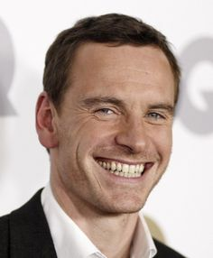 Michael Fassbender's super sexy--and slightly evil--smile. and that voice... SO HOT