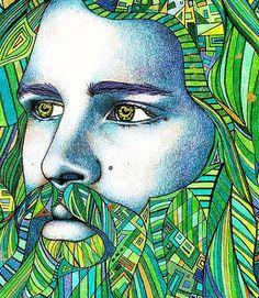 Le roi poète par LauraBorealisis sur Etsy
