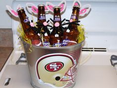 Bloody mary adult easter basket gift baskets pinterest who needs easter basketsr grown ups negle Choice Image