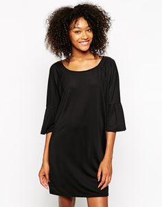 Vero Moda Fluted Sleeve Shift Dress / ASOS