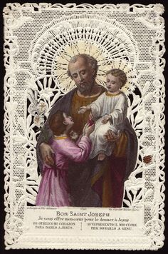 Buen san José,  yo te ofrezco mi corazón para que lo dones a Jesús.