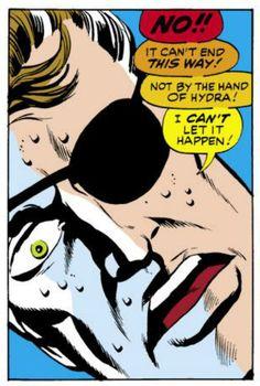 Strange Tales #158, Nick Fury Frets, Art: Jim Steranko