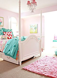 Girls Room Paint, Toddler Bed, Painting, Furniture, Home Decor, Child Bed, Decoration Home, Room Decor, Painting Art